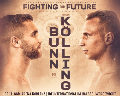 Benefiz Profi Boxgala - Fighting for Future